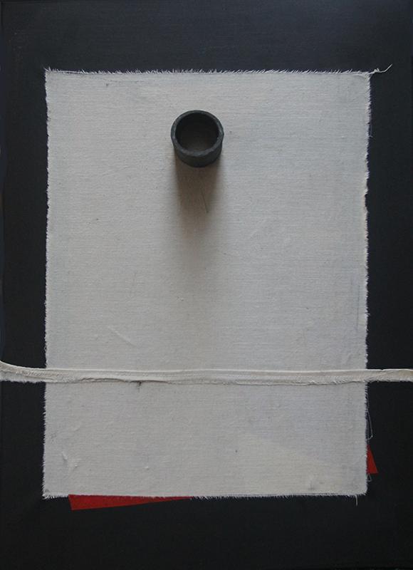 DNA 50 med 70x80cm tecnica mixta 2013